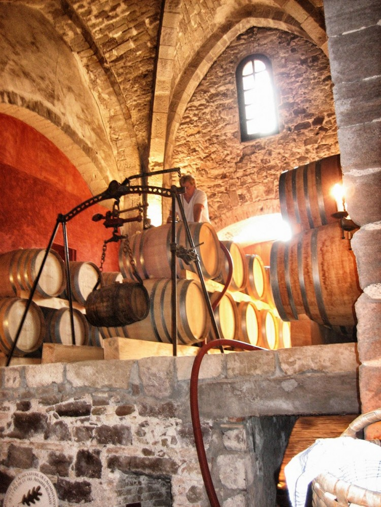 The Wine at Chateau de Palayson